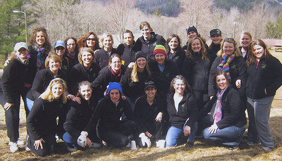 Imago Dei Image Quest Weekend Women on Trip Group photo